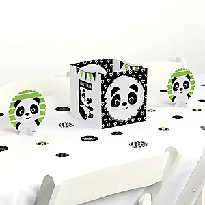 Party Like a Panda Bear - Baby Shower or Birthday Party Centerpiece and Table Decoration Kit