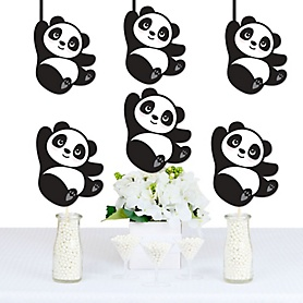 Party Like a Panda Bear - Decorations DIY  Baby Shower or Birthday Party Essentials - Set of 20