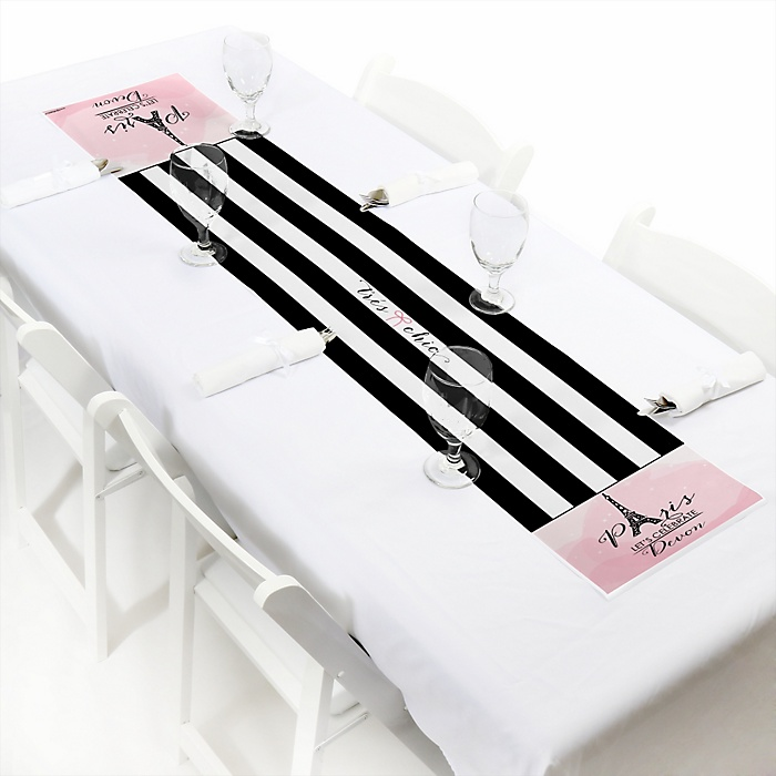 Paris, Ooh La La - Personalized Party Petite Table Runner
