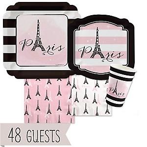 Paris, Ooh La La - Baby Shower 48 Big Dot Bundle
