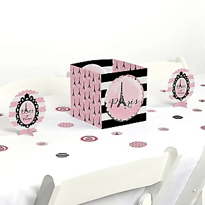 Paris, Ooh La La - Paris Themed Baby Shower or Birthday Party Centerpiece and Table Decoration Kit