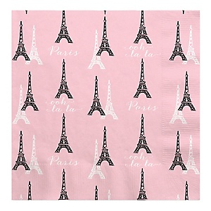 Paris, Ooh La La - Birthday Party Luncheon Napkins - 16 ct