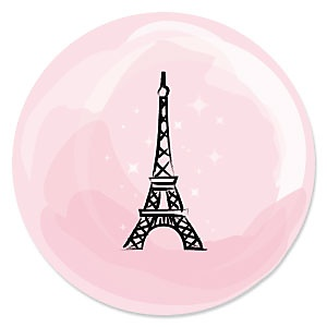 Paris, Ooh La La - Baby Shower Theme