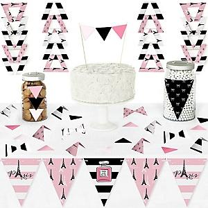 Paris, Ooh La La - Birthday Party Theme | BigDotOfHappiness com