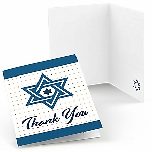 Happy Passover - Pesach Jewish Holiday Party Thank You Cards - 8 ct