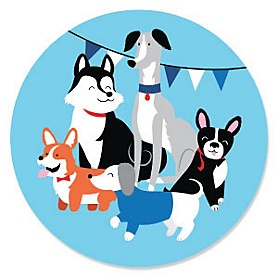 Pawty Like a Puppy - Dog Party Theme