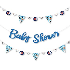 Pawty Like a Puppy - Dog Baby Shower Letter Banner Decoration - 36 Banner Cutouts and Baby Shower Banner Letters