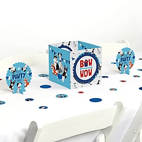 Pawty Like a Puppy - Dog Baby Shower or Birthday Party Centerpiece & Table Decoration Kit