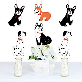 Pawty Like a Puppy - Decorations DIY Dog Baby Shower or Birthday Party Essentials - Set of 20