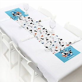 Pawty Like a Puppy - Personalized Dog Party Petite Table Runner