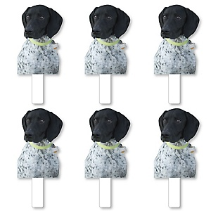 Pet Photo Cutout Paddles - Custom Cut Out Photo and Fan Props - Upload 1 Photo - Picture Paddles - 6 Pieces