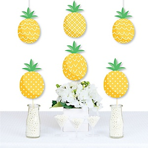 Tropical Pineapple - Decorations DIY Summer Party Essentials - Set of 20
