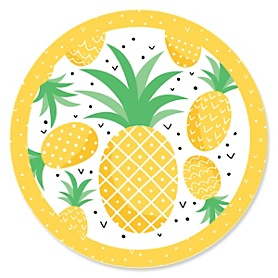 Tropical Pineapple - Summer Party Theme