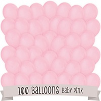 pink bridal shower latex balloons 100 ct