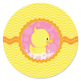 Pink Ducky Duck - Birthday Party Theme