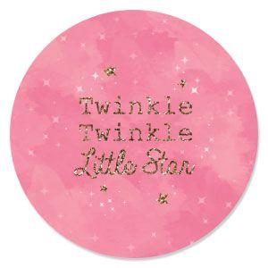 Pink Twinkle Twinkle Little Star   Baby Shower Theme