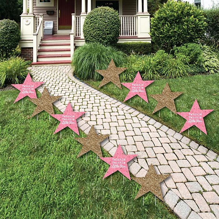 Backyard Twinkle Lights: Pink Twinkle Twinkle Little Star