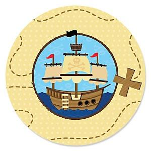 Ahoy Mates! - Pirate - Birthday Party Theme
