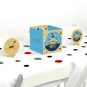Ahoy Mates! Pirate - Party Centerpiece & Table Decoration Kit