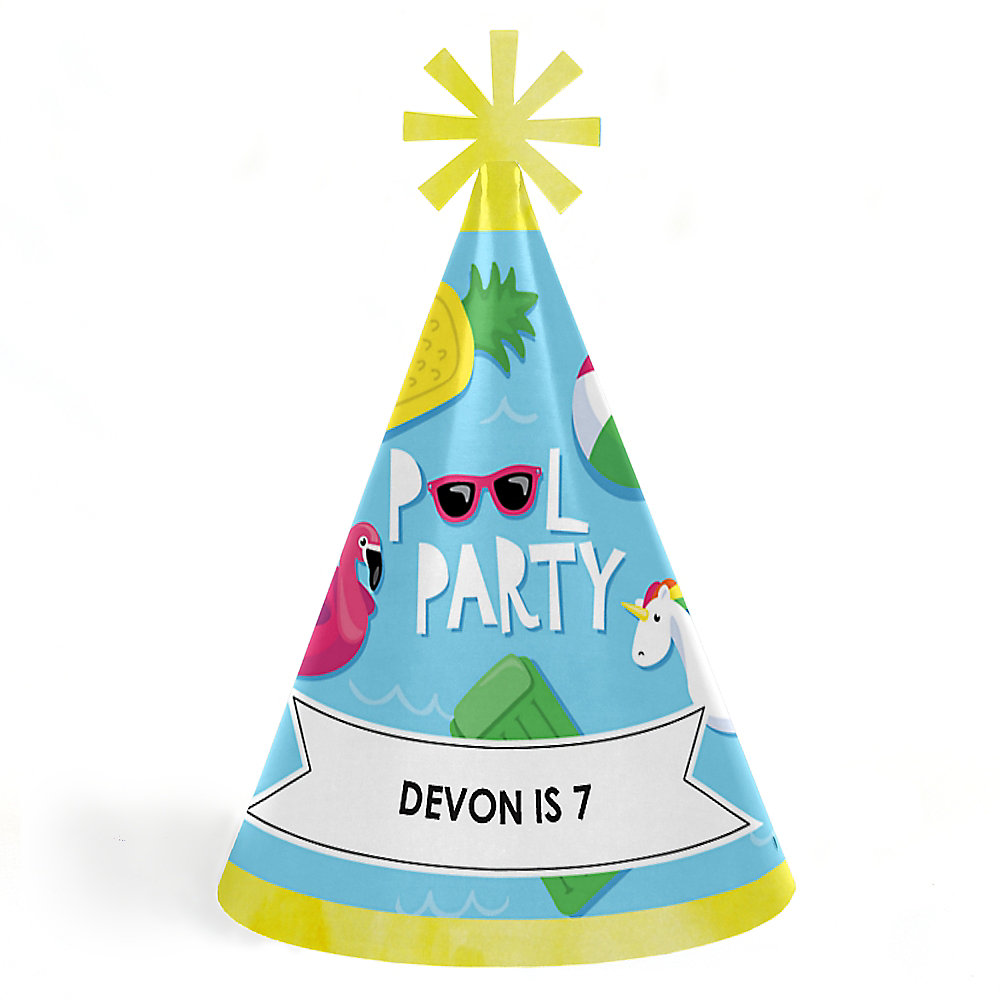 Happy Birthday Party Hats For Kids And Double Tap To Zoom