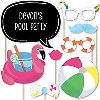 Make A Splash Pool Party 20 Piece Summer Swimming Party Or