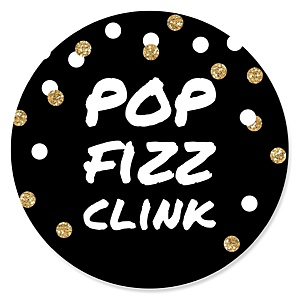 Pop, Fizz, Clink! - New Years Theme
