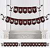 Prancing Plaid - Merry Christmas Bunting Banner & Buffalo Plaid Decorations