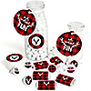 Prancing Plaid - Reindeer Holiday & Christmas Party Decorations Favor Kit - Party Stickers & Tags - 172 pcs