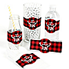 Prancing Plaid - DIY Buffalo Plaid Holiday Party Wrapper - 15 ct