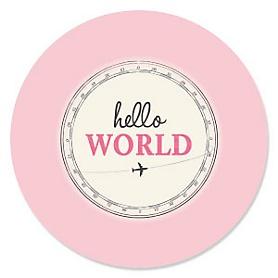 Precious Cargo - Pink - Baby Shower Theme