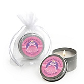 Pretty Princess - Candle Tin Personalized Baby Shower Favors