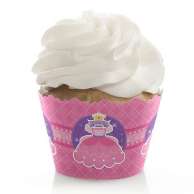 Pretty Princess   Baby Shower Cupcake Wrappers U0026 Decorations