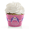 Pretty Princess - Birthday Party Cupcake Wrappers & Decorations