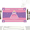 Pretty Princess - Personalized Birthday Party Placemats