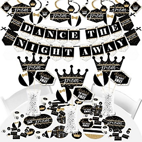 Prom - Prom Night Party Supplies - Banner Decoration Kit - Fundle Bundle