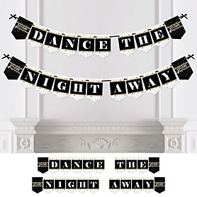 Prom - Personalized Prom Night Party Bunting Banner & Decorations