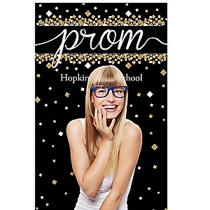 "Prom - Prom Night Party Photo Booth Backdrops - 36"" x 60"""