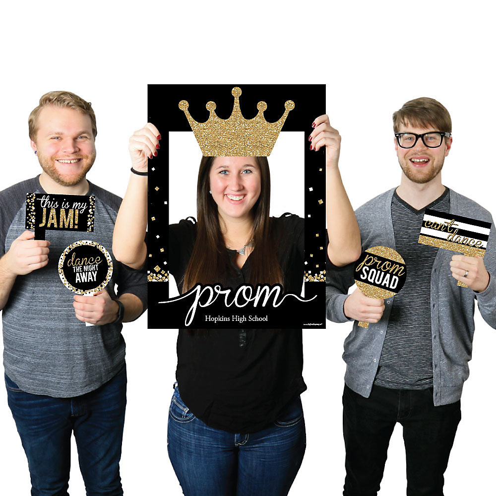 Prom - Personalized Prom Night Party Selfie Photo Booth Picture ...