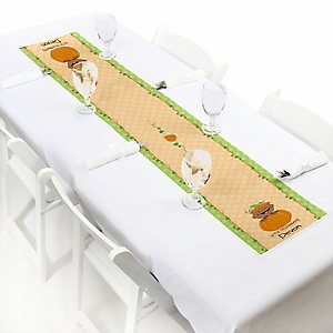 Little Pumpkin African American - Personalized Party Petite Table Runner