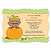 Little Pumpkin African American - Personalized Birthday Party Invitations