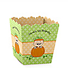 Little Pumpkin Caucasian - Personalized Birthday Party Candy Boxes