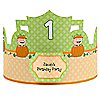 Little Pumpkin Caucasian - Personalized Birthday Party Hats - 8 ct