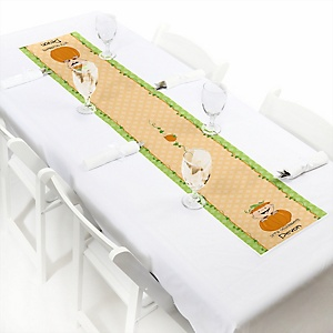 Little Pumpkin Caucasian - Personalized Party Petite Table Runner