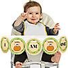 Little Pumpkin Caucasian - 1st Birthday - I Am One - First Birthday High Chair Banner