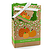 Pumpkin Patch - Personalized Fall & Thanksgiving Baby Shower Favor Boxes - Set of 12