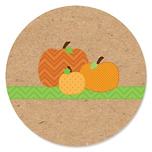 Pumpkin Patch - Fall Baby Shower Theme