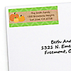 Pumpkin Patch - Personalized Fall & Thanksgiving Party Return Address Labels - 30 ct