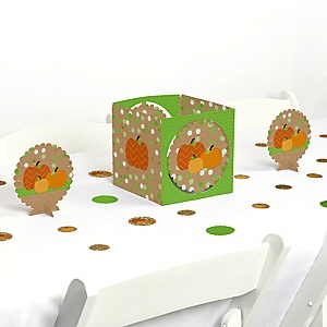 Pumpkin Patch - Fall and Thanksgiving Party Centerpiece and Table Decoration Kit