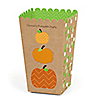 Pumpkin Patch - Personalized Fall & Thanksgiving Party Popcorn Favor Treat Boxes - Set of 12