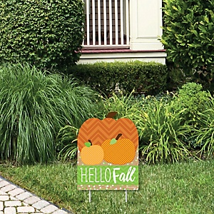 Pumpkin Patch - Outdoor Lawn Sign - Fall and Thanksgiving Party Yard Sign - 1 Piece